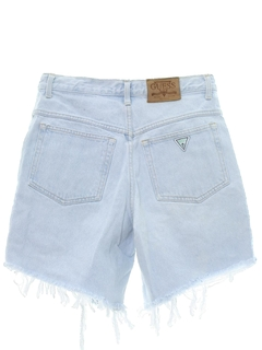 1980's Mens Totally 80s Denim Cutoff Shorts