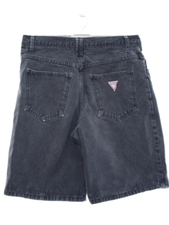 1990's Unisex Wicked 90s High Waisted Denim Shorts