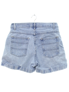 1990's Womens High Waisted Denim Mom Shorts