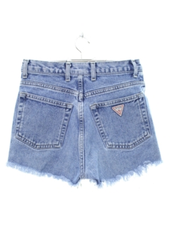 1990's Womens High Waisted Denim Cutoff Shorts