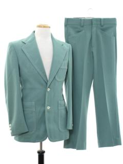 1970's Mens Leisure Suit