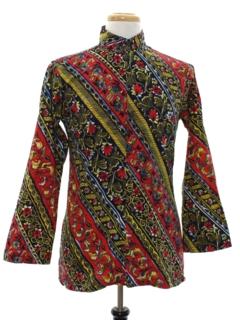 1960's Unisex Mod Hippie Style Tunic Shirt