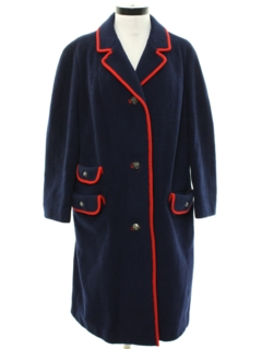 1960's Womens Mod Duster Jacket