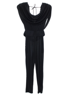 1980's Womens Totally 80s Disco Jumpsuit