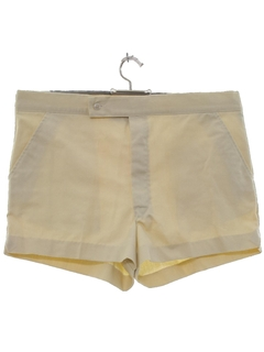1970's Mens Mod Tennis Sport Shorts