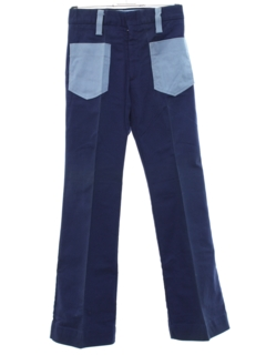 1970's Mens Bellbottom Jeans Style Pants