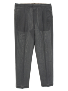 1950's Mens Pleated Pants