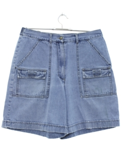 1990's Womens Stone Washed Denim Shorts