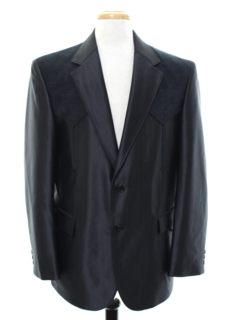 1960's Mens Western Blazer Sport Coat Jacket