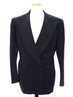 1950's Mens Tuxedo Blazer Jacket