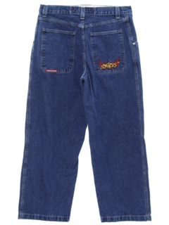1990's Mens Wide Leg Denim Jeans Pants
