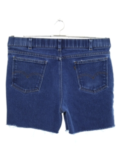 1970's Mens Denim Jeans Cut Off Shorts