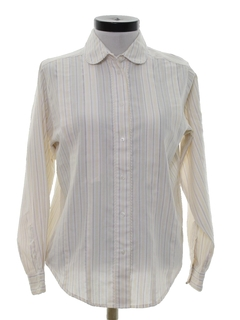 1980's Womens Totally 80s Preppy Shirt