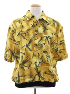 1980's Mens Totally 80s Resort Wear Shirt