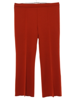 1970's Womens Knit Flared Pants