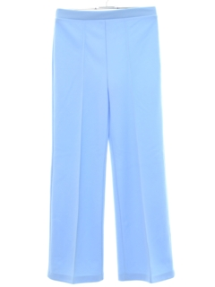 1970's Womens Flared Womens Knit Pants