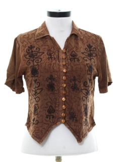 1990's Womens Hippie Shirt