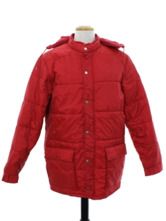 1980's Mens Car Coat Style Ski Jacket