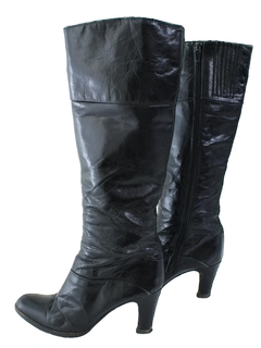 1970's Womens Accessories - Leather Boots Shoes