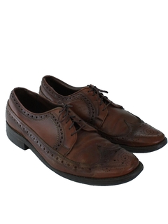 1960's Mens Accessories - Leather Oxford Shoes