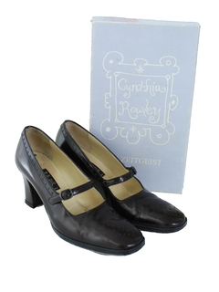 1990's Womens Accessories - Leather Heels Shoes