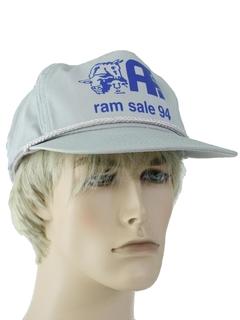 1990's Unisex Accessories - Baseball Trucker Hat