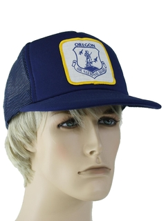 1980's Unisex Accessories - Baseball Trucker Hat