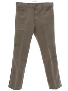 1970's Mens Jeans-Cut Straight Leg Pants