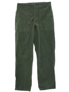 1980's Mens Military Work Pants