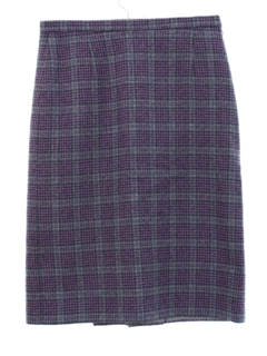 1950's Womens Wool Pencil Skirt