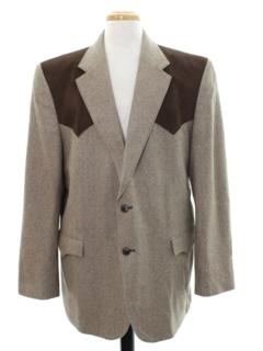 1990's Mens Western Blazer Sport Coat Jacket