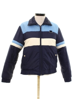 1980's Unisex Ladies or Boys Totally 80s Ski Jacket
