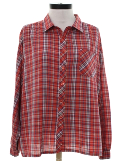 1980's Womens Preppy Shirt