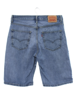 1990's Mens Levis Denim Jeans Jorts Shorts