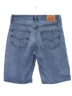 1990's Mens Levis Denim Jeans Jorts Shorts