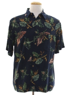 1990's Mens Hawaiian Print Shirt
