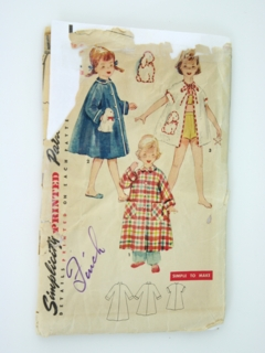 1940's Womens/Girls Pattern