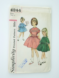 1b6e63d03ca Womens 1940 s   1950 s Sewing Patterns at RustyZipper.Com Vintage ...