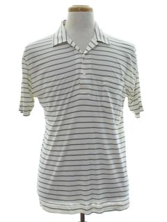 1950's Mens Mod Knit Shirt