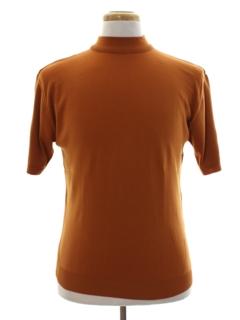 1960's Mens Mod Knit Shirt
