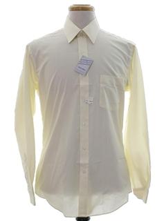 1980's Mens Solid Shirt