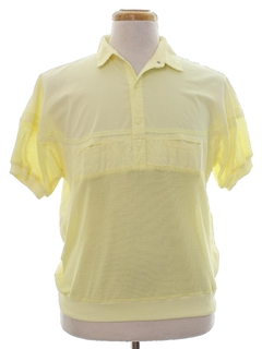 1980's Mens Totally 80s Leisure Style Shirt