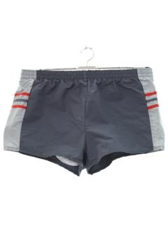 1980's Mens Totally 80s Swim Shorts