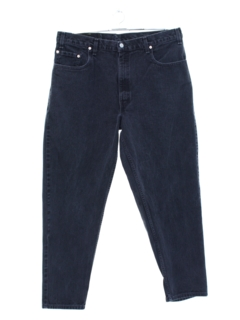 1980's Mens Levis 560 Relaxed Straight Leg Denim Jeans Pants