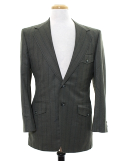 1970's Mens Mod Blazer Sport Coat Jacket