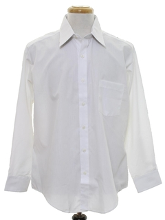 1980's Mens Solid Shirt