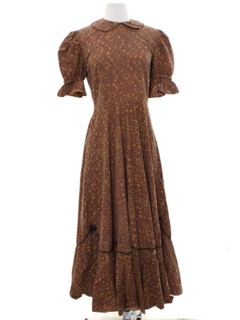1960's Womens Prairie Dress