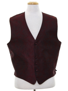 1980's Mens Fancy Vest