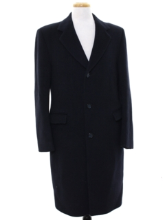 1960's Mens Cashmere Overcoat Jacket