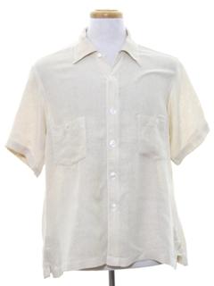 1930's Mens Sport Shirt